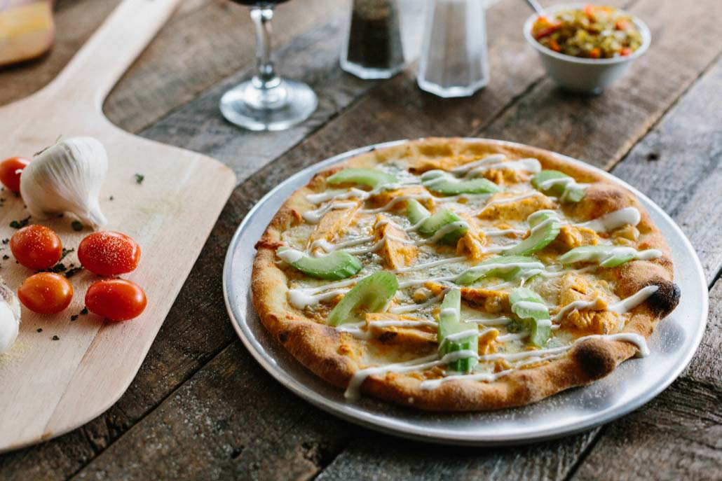 Pizzelii Buffalo Chicken Pizza