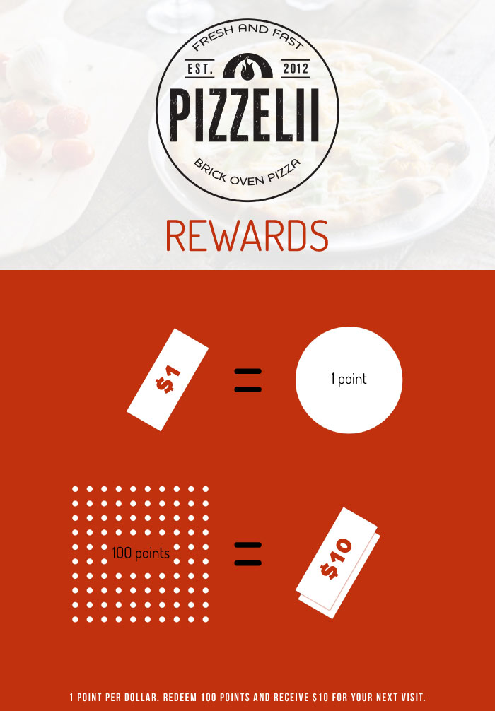 Pizzelii Rewards